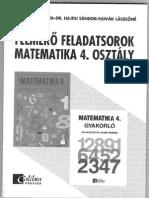 Hajdu Matek Felmérő 4. o