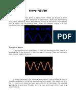Wave Motion