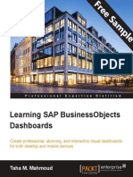 Learning SAP BusinessObjects Dashboards - Sample Chapter