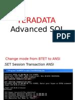 Td Advanced SQL