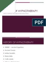 History of Hypnotherapy Presentation