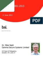 BSI ISO IEC 27001 Live Transition Webinar June2014