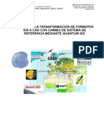 Manual Conversion Qgis