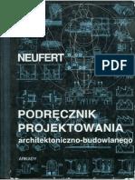 Neufert Ernst - Podręcznik projektowania architektoniczno-budowlanego (2000)