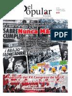 El Popular 313 Órgano de Prensa Oficial del Partido Comunista de Uruguay