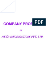Company Profile-Aeva Infosolutions