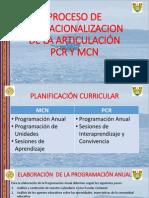 Gestión Curricular PCR (PQV)