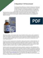 Diferencias Entre El Ibuprofeno Y El Paracetamol