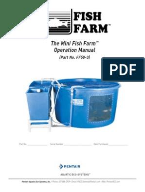 FF50-3 Mini Fish Farm 0112 Pentair   Alkalinity   Buffer