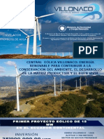 Proyecto Eólico Villonaco