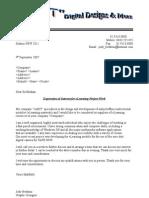 EOI form letter