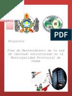 Proyecto Mantenimiento de La Red Estructurada
