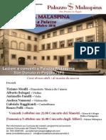 Accademia Malaspina Ottobre 2014