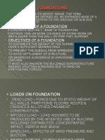 A presentation on Foundations..