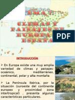 7.- CLIMAS Y PAISAJES DE EUROPA Y ESPAÑA