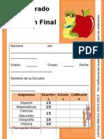 6to Grado - Examen Final (2014-2015).doc