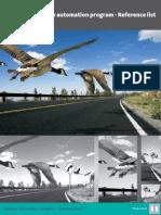Railway Automation Program - Reference List