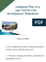 City Development Plan As a Strategic Tool for City Development