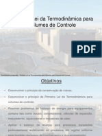 04 Primeira Lei Termodinâmica Volumes de Controle 2015