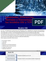 Igualdades Diferencias Ventajas y Desventajas Entre Los Modelos OSI y TCPIP