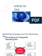 1-Introduction to Marketing - Marketing Mix 4ps - 7ps