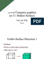 2IV60 11 Hidden Surfaces