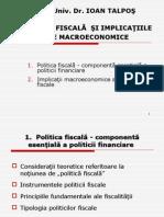 3. Politica Fiscala