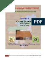 Coir Polymer Composite Board