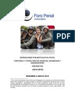 Resumen del Informe del Foro Penal Venezolano ante el Comité de DDHH de la ONU