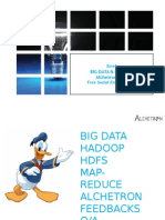 Big data & Hadoop & How we use it at Alchetron