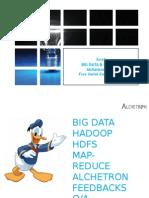 Big data & Hadoop & How we use it at Alchetron