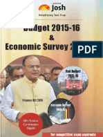 Budget 2015 -16 & Economic Survey 2014-15 by JagranJosh