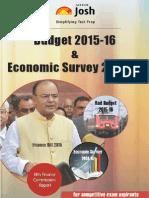 Budget 2015 -16 & Economic Survey 2014-15 by JagranJosh