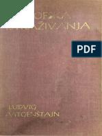 Ludwig Wittgenstein- Filosofska Istrazivanja