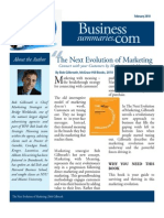 Book Summary (Lite) of The Next Evolution of Marketing