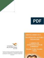 Matematica Diferencial Calculo Estadistico