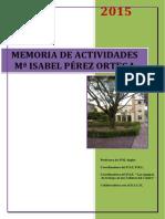 Memoria Actividades 2014_ 2015