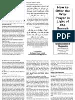 pamphlet - salah witr - icp