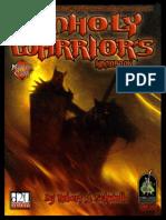 D20 - D&D - The Unholy Warrior's Handbook