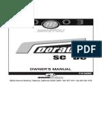 Manitou 2003 Dorado Service Manual
