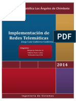 Implementacion de Una Red Telematica