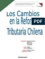 Reforma Tributaria Chilena