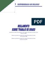 Reglamento Trabajo de Grado 11-04-2011