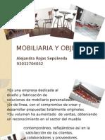 Mobiliaria y Objetos