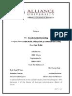 Internship Report on Social Media Marketing