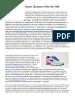 Nike Blazer Bleu Homme Chaussures Pas Cher NJ4