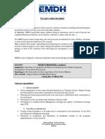 Microsoft Word - EMDH PM Vacancy Announcement _1