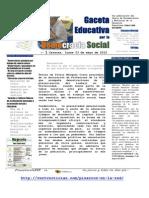 N° 1 Gaceta Educativa