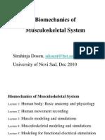 Biomechanics of Musculoskeletal System