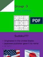 Sudoku Seminar 1